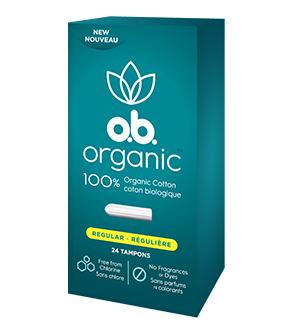 o.b. Organic™ Regular