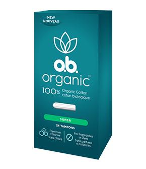 o.b. Organic™ Super