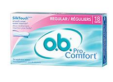 o b r tampons non applicator tampons